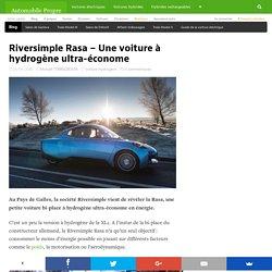 Riversimple Rasa – Une voiture à hydrogène ultra-économe