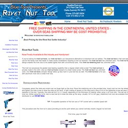 Rivet Nut Tools | Rivet Nut Tool | Rivet Gun | Rivet Tool | Rivet Pop Gun | Rivet Pneumatic Gun