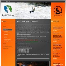 Parc de la rivière Batiscan - Parc Régional et Via Ferrata