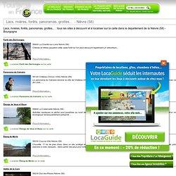 Lacs, rivières, forêts, panoramas, grottes... - Nièvre (58)
