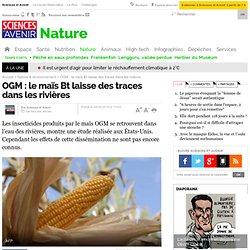 SCIENCES ET AVENIR 29/09/10 OGM : le maïs Bt laisse des traces dans les rivières