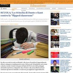 """La rivincita di Dante e Kant contro la """"flipped classroom"""""""