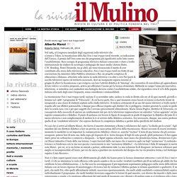 La rivista il Mulino: Alberto Manzi di R. Farnè, 2012