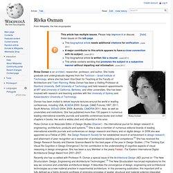 Rivka Oxman