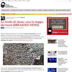 Le rivolte di Atene: ecco la mappa dei tweet [BREAKING NEWS]