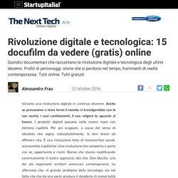 Rivoluzione digitale: 15 docufilm da vedere (gratis) online