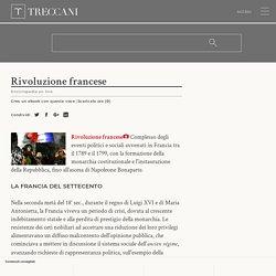 Rivoluzione francese nell'Enciclopedia Treccani