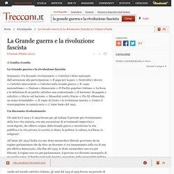 """La Grande Guerra E La Rivoluzione Fascista in """"Cristiani d'Italia"""""""
