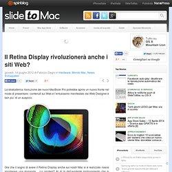 Il Retina Display rivoluzionerà anche i siti Web?