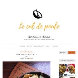 Riz cantonais revisité ~ choux de Bruxelles, champignons – Le cul de poule
