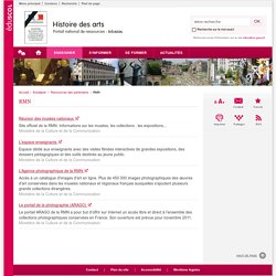 RMN-Histoire des arts-Éduscol