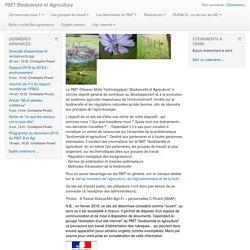 RMT Biodiversité et Agriculture