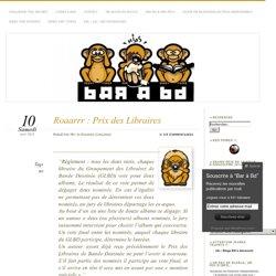 Roaarrr : Prix des Libraires