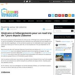 Road-trip autour de Lisbonne