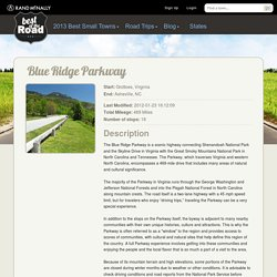 Road Trip: Blue Ridge Parkway - Best of the Road