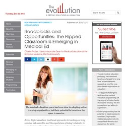 Roadblocks and Opportunities: The Flipped Classroom Is Emerging in Medical Ed