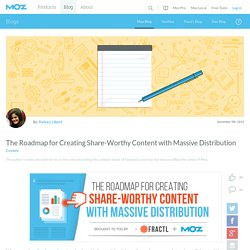 The Roadmap for Creating Share-Worthy Content with Massive Distribution