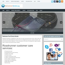 Roadrunner email Customer Care number for Support