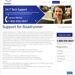 Roadrunner Email Support Number