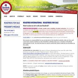Roadtreks for Sale - Road Trek International