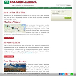 RoadTrip America: How To Use This Site