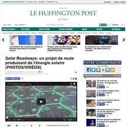 Energie solaire: Solar Roadways, le projet de route produisant de l'électricité