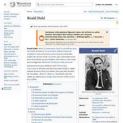 Dahl, Roald