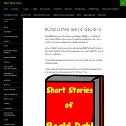 Roald Dahl Short Stories