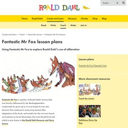 Roald Dahl's Fantastic Mr Fox lesson plans
