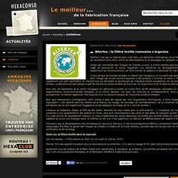 Altertex : la filière textile roannaise s'organise - Actualités - Hexaconso