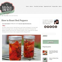 Tuesday Tip: How to Roast Red Peppers