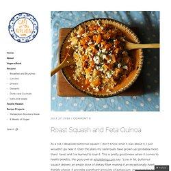 Roast Squash and Feta Quinoa