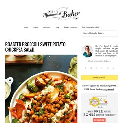 Roasted Broccoli Sweet Potato Salad