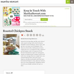 Chickpea Nibble -- Martha Stewart Food