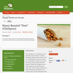 "Honey Roasted ""Nuts"" (Chickpeas) Recipe"