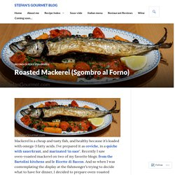 Roasted Mackerel (Sgombro al Forno)
