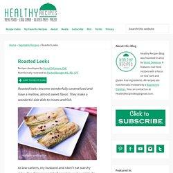 Roasted Leeks Recipe with Parmesan