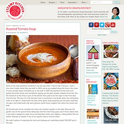 Roasted Tomato Soup Recipe ***