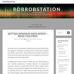 Rob Krumm – ROBROBSTATION
