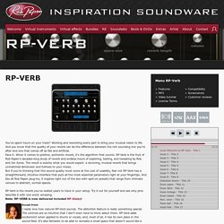 Rob Papen RP-VERB effect plug-in