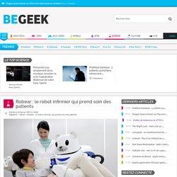 Robear: le robot infirmier qui prend soin des patients