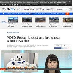 Robear, le robot ours japonais qui aide les invalides