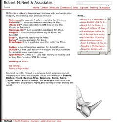 Robert McNeel & Associates - North America