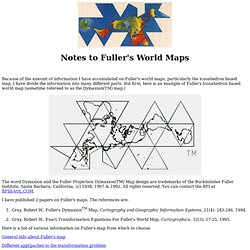 Robert W. Gray's Buckminster Fuller Notes