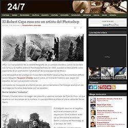 El Robert Capa ruso era un artista del Photoshop
