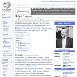 Robert Conquest