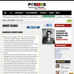 Robert Desnos - Poèmes de Robert Desnos