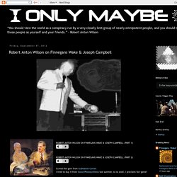 Only Maybe: Robert Anton Wilson on Finnegans Wake & Joseph Campbell