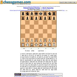 Breyer defense: Fischer vs Spassky 1972