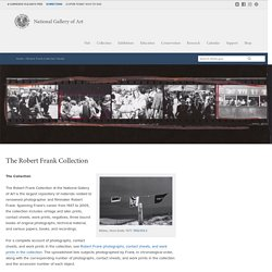 Robert Frank Collection Guide